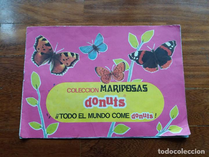 DONUTS ALBUM DE MARIPOSAS ORIGINAL DE 1971 COMPLETO (Coleccionismo - Laminas, Programas y Otros Documentos)