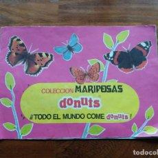 Coleccionismo: DONUTS ALBUM DE MARIPOSAS ORIGINAL DE 1971 COMPLETO. Lote 69267129