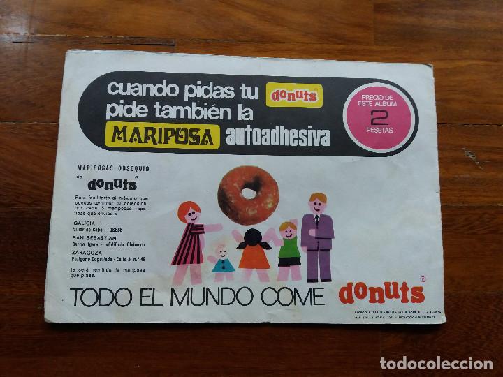 Coleccionismo: Donuts Album de Mariposas Original de 1971 Completo - Foto 5 - 69267129