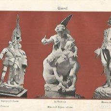 Coleccionismo: LAMINA ESPASA 3817: ESCULTURAS HECHAS POR QUEROL. Lote 69532283