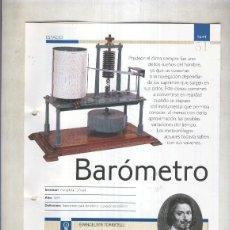 Coleccionismo: BAROMETRO: SON 4 PAGINAS Y . Lote 69565587
