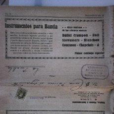 Coleccionismo: CATÁLOGO DESPLEGABLE SUPL.NUM 50 ALMACENES MUSICA Y PIANOS E.LUNA. Lote 69734833