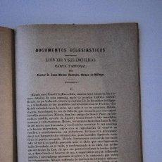 Coleccionismo: REVISTA IBERO-AMERICANA DE CIENCIAS ECLESIASTICAS Nº6 JUNIO 1901. Lote 69735125