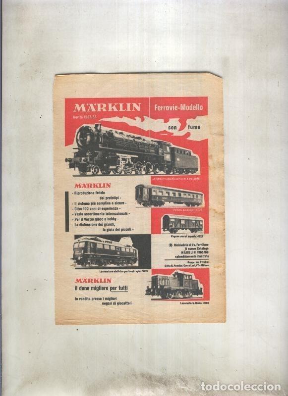 HOJA PROPAGANDA TRENES MARKLIN (Coleccionismo - Laminas, Programas y Otros Documentos)