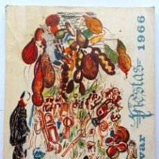 Coleccionismo: REVISTA OFICIAL DE LAS FIESTA DE MONOVAR (ALICANTE) AÑO 1966. Lote 69820441