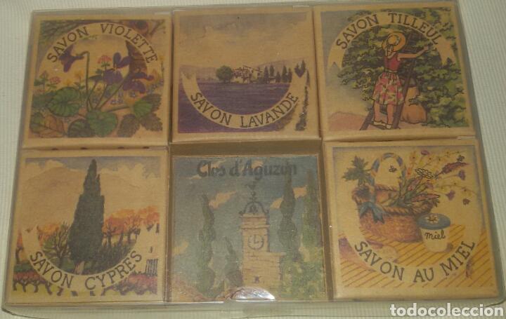 LOTE ANTIGUOS JABONES FRANCESES. (Coleccionismo - Varios)