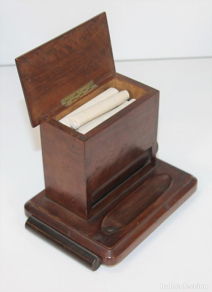 Caja cigarrera madera espa a siglo xx comprar en for Clausula suelo caja espana 2018