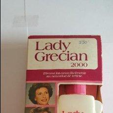 Coleccionismo: ANTIGUA BOTELLA DE TINTE PARA LAS CANAS LADY GRECIAN 2000 -. Lote 71580571