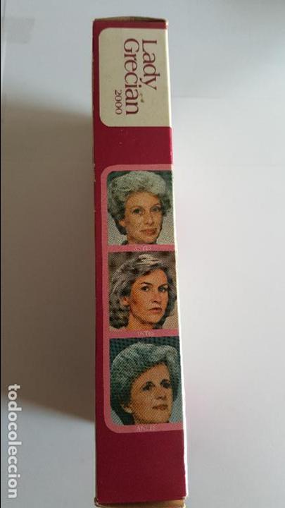Coleccionismo: ANTIGUA BOTELLA DE TINTE PARA LAS CANAS LADY GRECIAN 2000 - - Foto 2 - 71580571