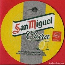 Coleccionismo: POSAVASO SAN MIGUEL CLARA. Lote 71722667