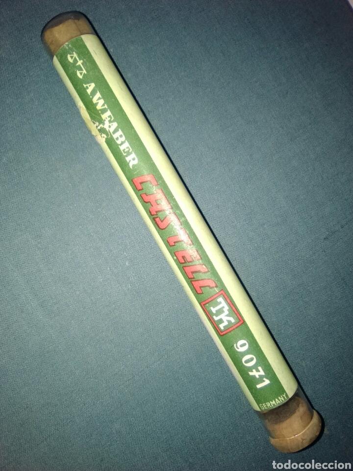 TUBO CRISTAL MINAS FABER CASTELL 971 5H 12 (Coleccionismo - Varios)