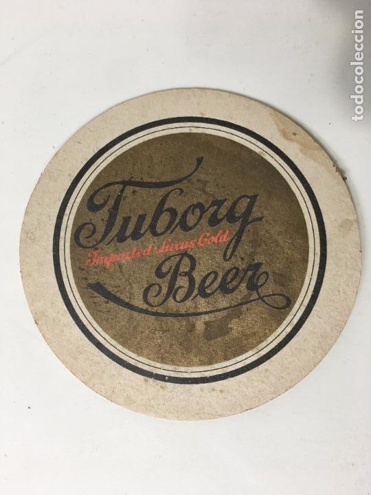 Coleccionismo: POSA VASOS TUBORG BEER - Foto 2 - 72837863