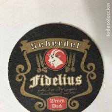 Coleccionismo: POSA VASOS DE CERVEZA SCHERDEL FIDELIUS. Lote 72838651