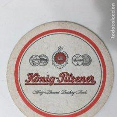 Coleccionismo: POSA VASOS DE CERVEZA KONIG - PILSENER. Lote 72839715