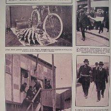 Coleccionismo: 1910-1919-PARÍS BANDIDOS GARNIER BONNOT-CHOISY-LE-ROI-ANARQUISTA FROMENTIN-AEROPLANO VÉDRINES EPINAY. Lote 72918647