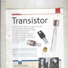 Coleccionismo: TRANSISTOR: SON 4 PAGINAS Y . Lote 73000442