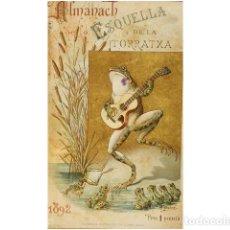 Coleccionismo: ALMANACH DE LESQUELLA DE LA TORRATXA.. Lote 73025547