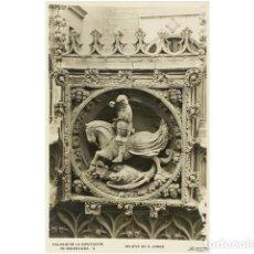 Coleccionismo: LOTE DE 23 POSTALES FOTOGRAFICAS DEL PALACIO DE LA DIPUTACION DE BARCELONA.. Lote 73025743