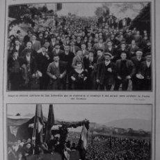 Coleccionismo: 1910-19-SAN SEBASTIÁN FIESTA TRABAJO-BARACALDO MITIN-BARCELONA JUEGOS FLORALES MÚSICA-CARULLA. Lote 73040235