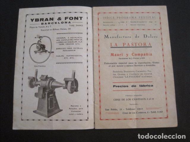 Coleccionismo: ESCUELAS PIAS DE SARRIA - PROGRAMA FESTIVAL EDUCACION FISICA - VER FOTOS Y MEDIDAS - (V-8254) - Foto 2 - 73695703