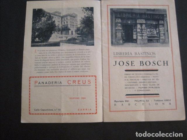 Coleccionismo: ESCUELAS PIAS DE SARRIA - PROGRAMA FESTIVAL EDUCACION FISICA - VER FOTOS Y MEDIDAS - (V-8254) - Foto 3 - 73695703