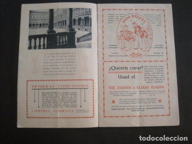 Coleccionismo: ESCUELAS PIAS DE SARRIA - PROGRAMA FESTIVAL EDUCACION FISICA - VER FOTOS Y MEDIDAS - (V-8254) - Foto 4 - 73695703