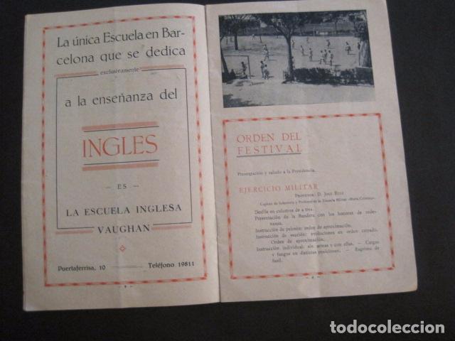 Coleccionismo: ESCUELAS PIAS DE SARRIA - PROGRAMA FESTIVAL EDUCACION FISICA - VER FOTOS Y MEDIDAS - (V-8254) - Foto 6 - 73695703