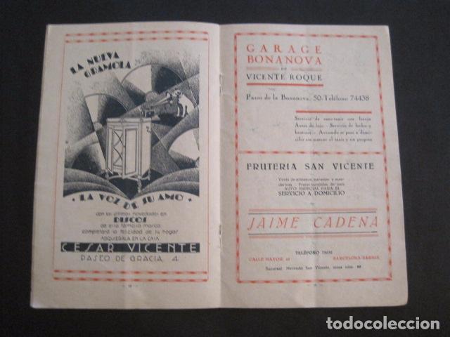 Coleccionismo: ESCUELAS PIAS DE SARRIA - PROGRAMA FESTIVAL EDUCACION FISICA - VER FOTOS Y MEDIDAS - (V-8254) - Foto 8 - 73695703