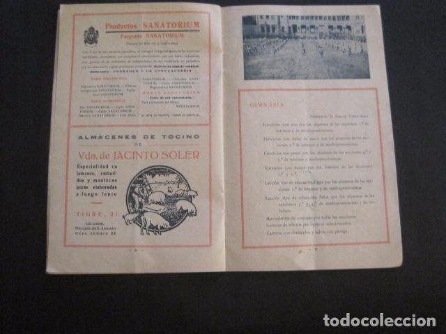 Coleccionismo: ESCUELAS PIAS DE SARRIA - PROGRAMA FESTIVAL EDUCACION FISICA - VER FOTOS Y MEDIDAS - (V-8254) - Foto 9 - 73695703