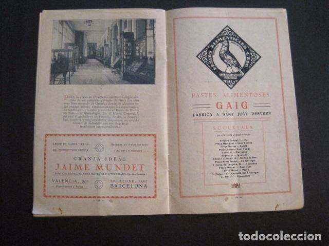 Coleccionismo: ESCUELAS PIAS DE SARRIA - PROGRAMA FESTIVAL EDUCACION FISICA - VER FOTOS Y MEDIDAS - (V-8254) - Foto 11 - 73695703