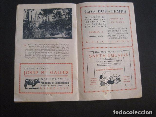 Coleccionismo: ESCUELAS PIAS DE SARRIA - PROGRAMA FESTIVAL EDUCACION FISICA - VER FOTOS Y MEDIDAS - (V-8254) - Foto 12 - 73695703