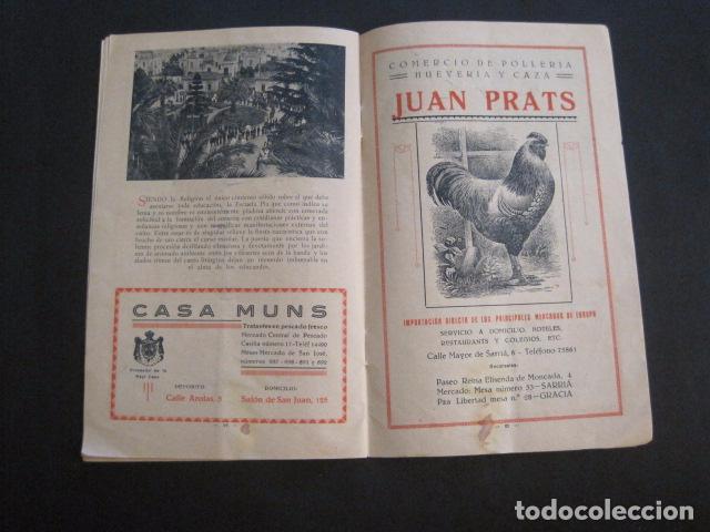 Coleccionismo: ESCUELAS PIAS DE SARRIA - PROGRAMA FESTIVAL EDUCACION FISICA - VER FOTOS Y MEDIDAS - (V-8254) - Foto 13 - 73695703