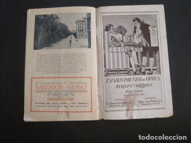 Coleccionismo: ESCUELAS PIAS DE SARRIA - PROGRAMA FESTIVAL EDUCACION FISICA - VER FOTOS Y MEDIDAS - (V-8254) - Foto 14 - 73695703