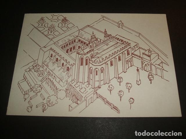 Santiponce Sevilla Monasterio De San Isidoro Del Campo Vista Ilustracion Felicitacion