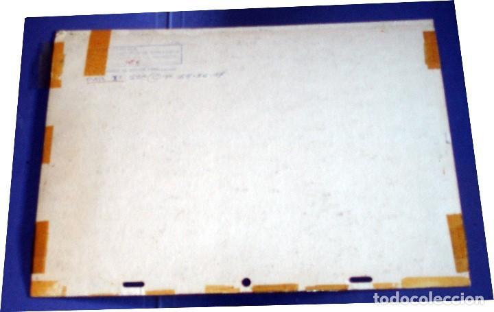 Coleccionismo: FONDO 26 ESCENARIO ORIGINAL DE LA SERIE DE DIBUJOS ANIMADOS D. QUIJOTE DE LA MANCHA (1979) - Témpera - Foto 2 - 73796423