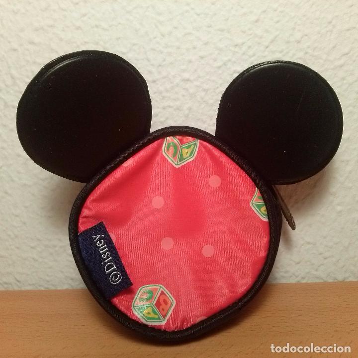 Coleccionismo: Monedero cremallera Mickey mouse con orejas. Marca Safta. Disney. - Foto 2 - 73842267