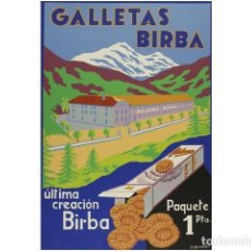 Coleccionismo: GALLETAS BIRBA.. Lote 73913090