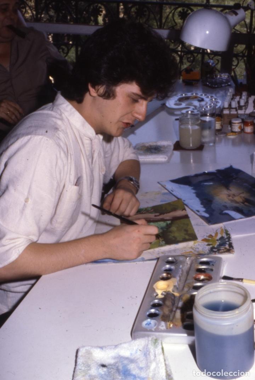 Coleccionismo: FONDO 218bis ORIGINAL DE LA SERIE DE DIBUJOS ANIMADOS D. QUIJOTE DE LA MANCHA (1979) - Témpera - Foto 4 - 73868131