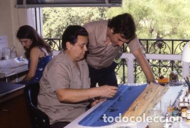 Coleccionismo: FONDO 422A ORIGINAL DE LA SERIE DE DIBUJOS ANIMADOS D. QUIJOTE DE LA MANCHA (1979) - Témpera - Foto 3 - 73918123