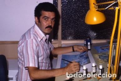 Coleccionismo: FONDO 422A ORIGINAL DE LA SERIE DE DIBUJOS ANIMADOS D. QUIJOTE DE LA MANCHA (1979) - Témpera - Foto 5 - 73918123
