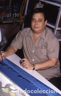 Coleccionismo: FONDO 422A ORIGINAL DE LA SERIE DE DIBUJOS ANIMADOS D. QUIJOTE DE LA MANCHA (1979) - Témpera - Foto 7 - 73918123
