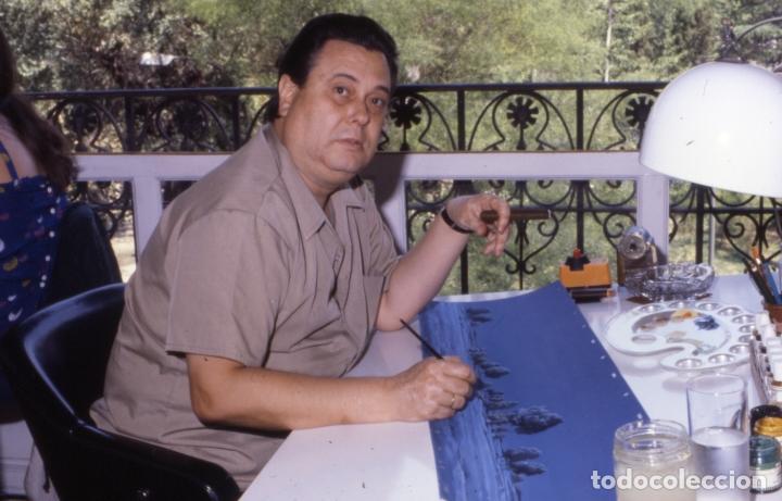 Coleccionismo: FONDO 23 ESCENARIO ORIGINAL DE LA SERIE DE DIBUJOS ANIMADOS D. QUIJOTE DE LA MANCHA (1979) - Témpera - Foto 3 - 73838847