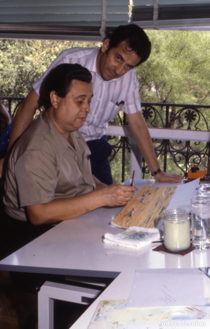 Coleccionismo: FONDO 23 ESCENARIO ORIGINAL DE LA SERIE DE DIBUJOS ANIMADOS D. QUIJOTE DE LA MANCHA (1979) - Témpera - Foto 5 - 73838847