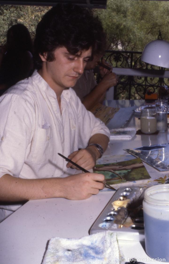 Coleccionismo: FONDO 23 ESCENARIO ORIGINAL DE LA SERIE DE DIBUJOS ANIMADOS D. QUIJOTE DE LA MANCHA (1979) - Témpera - Foto 9 - 73838847