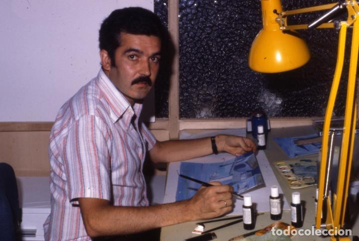 Coleccionismo: FONDO 218bis ORIGINAL DE LA SERIE DE DIBUJOS ANIMADOS D. QUIJOTE DE LA MANCHA (1979) - Témpera - Foto 6 - 73868131