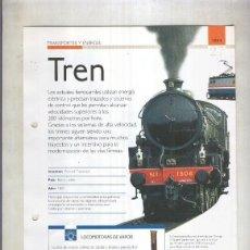 Coleccionismo: TREN: SON 4 PAGINAS Y. Lote 74177621
