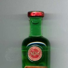Coleccionismo: ANTIGUO BOTELLIN DE PEPPERMINT MENTA - MOLLFULLEDA - DE 5 CL - MIDE 110 MILIMETROS - Nº34. Lote 74217407