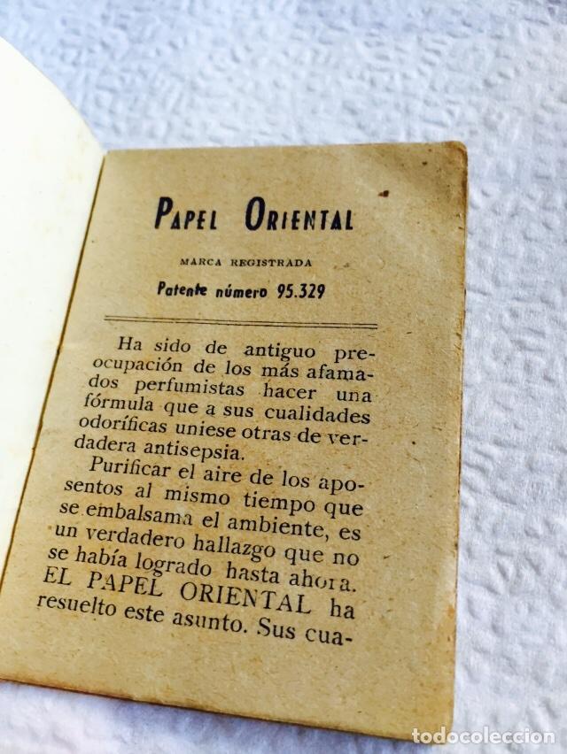 Coleccionismo: Antiguo libro de papel perfumado papel oriental - Foto 2 - 74362339