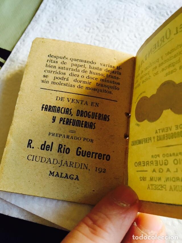 Coleccionismo: Antiguo libro de papel perfumado papel oriental - Foto 4 - 74362339