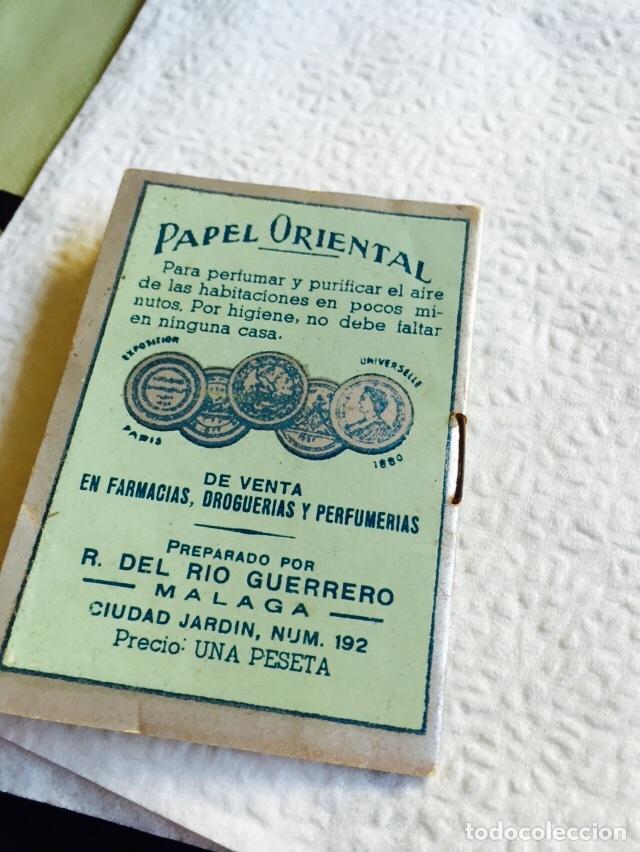 Coleccionismo: Antiguo libro de papel perfumado papel oriental - Foto 5 - 74362339